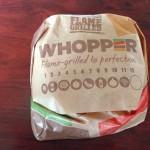 バーガーキング ワッパー食べてみた!大きさは?女性は食べきれる?